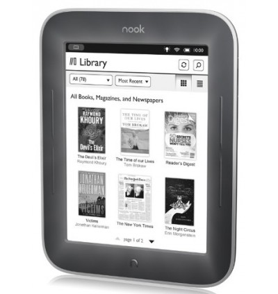 Barnes&Noble Nook The Simple Touch Reader with GlowLight