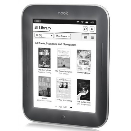 Электронная книга Barnes&Noble Nook The Simple Touch Reader with GlowLight