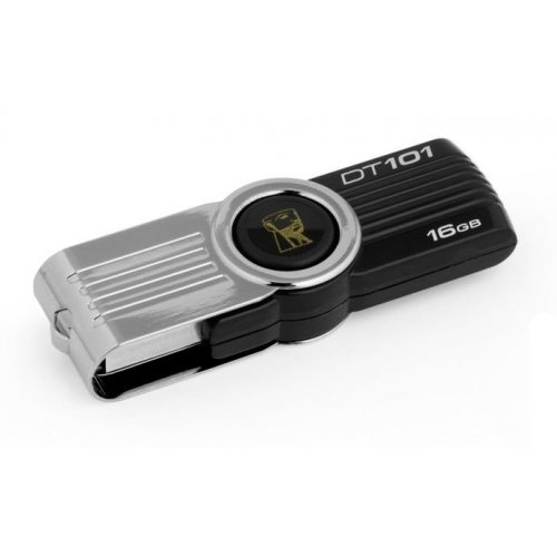 Накопитель Kingston DataTraveler 101 G2 16GB Black (DT101G2/16GB)