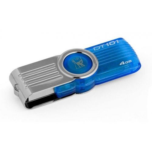 Накопитель Kingston DataTraveler 101 G2 4GB Cyan (DT101G2/4GB)