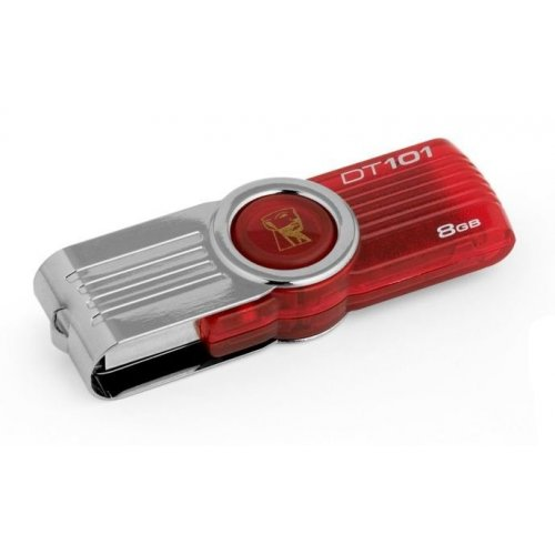 Накопитель Kingston DataTraveler 101 G2 8GB Red (DT101G2/8GB)