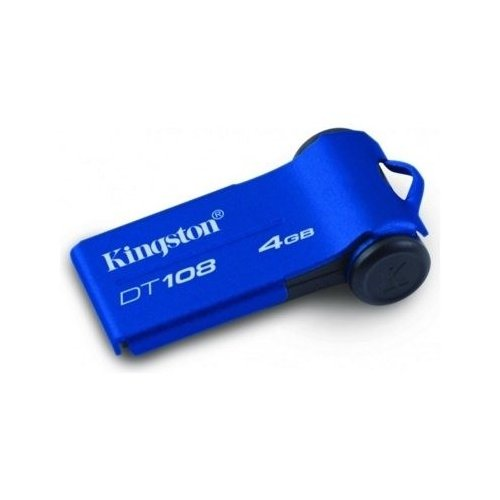 Накопитель Kingston DataTraveler 108 4GB Blue