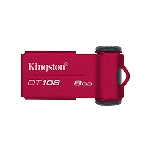 Накопитель Kingston DataTraveler 108 8GB Red
