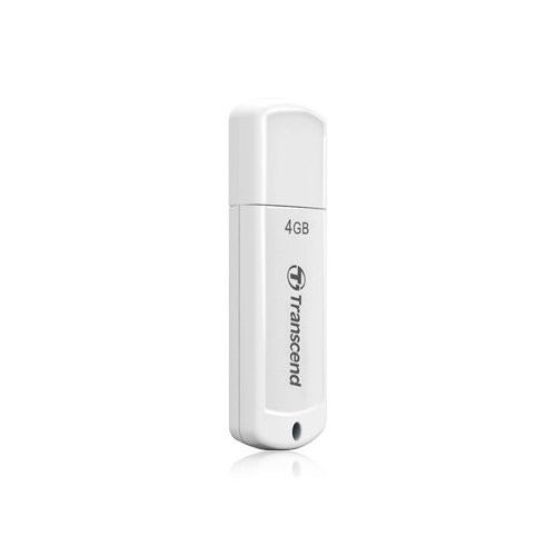 Накопитель Transcend JetFlash 370 4GB White (TS4GJF370)