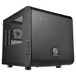 Thermaltake Core V1 без БП (ITX CA-1B8-00S1WN-00) Black