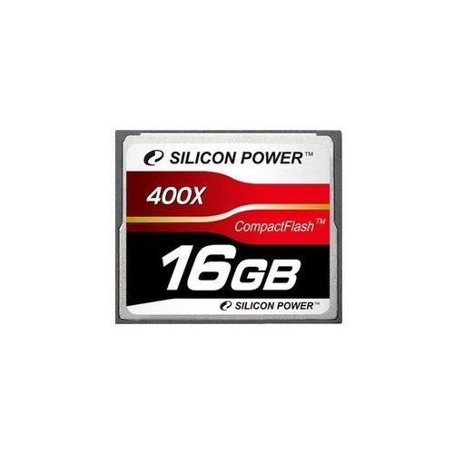 Карта памяти Silicon Power CF 16GB (400x) (SP016GBCFC400V10)