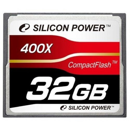 Карта памяти Silicon Power CF 32GB (400x) (SP032GBCFC400V10)