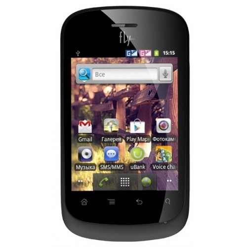 Смартфон Fly IQ235 Uno Black