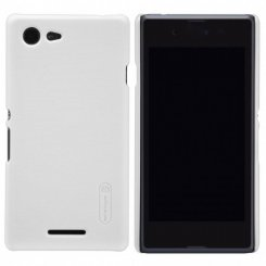 Чехол Nillkin Frosted Shield для Sony Xperia E3 White