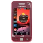 Samsung S5230 Star Garnet Red