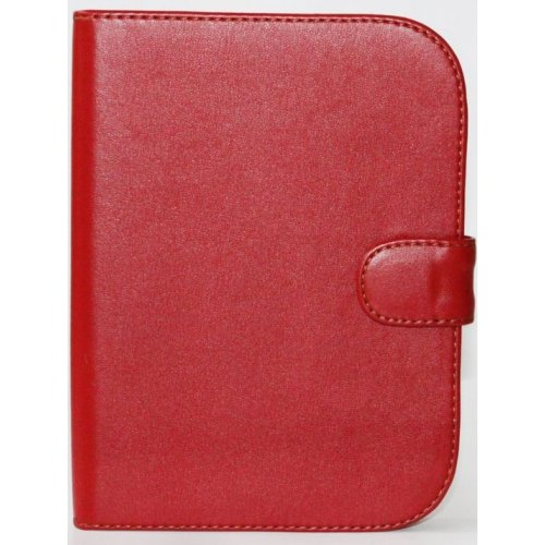 Обложка Saxon для Barnes&Noble Nook Simple Touch Classic Red