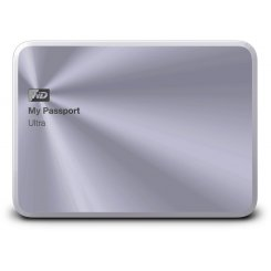 Western Digital My Passport Ultra 1TB WDBTYH0010BSL-EESN Silver