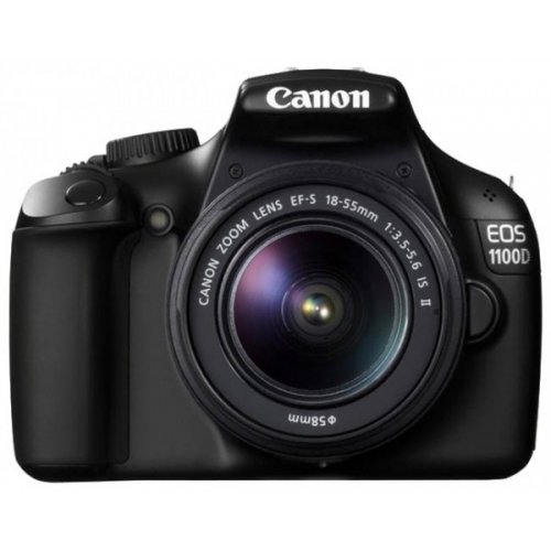 Цифровые фотоаппараты Canon EOS 1100D 18-55 IS II Kit