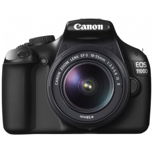 Цифровые фотоаппараты Canon EOS 1100D 18-55 IS Kit