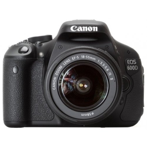 Цифровые фотоаппараты Canon EOS 600D 18-55 IS Kit