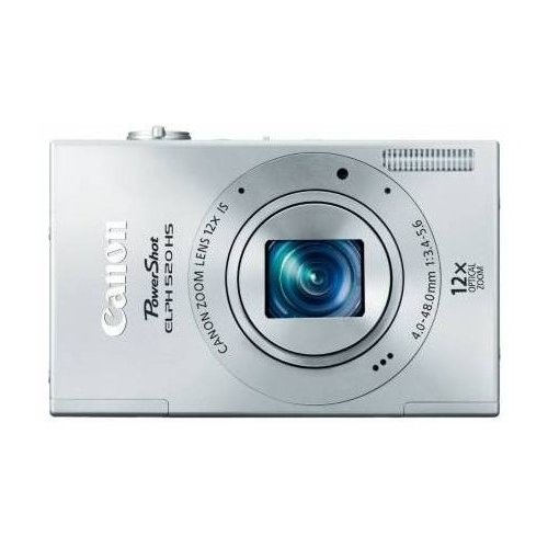 Цифровые фотоаппараты Canon IXUS 500 HS Silver