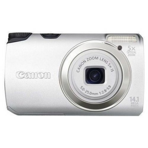 Цифровые фотоаппараты Canon PowerShot A3200 IS Silver