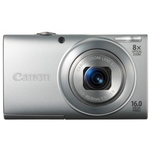 Цифровые фотоаппараты Canon PowerShot A4000 IS Silver