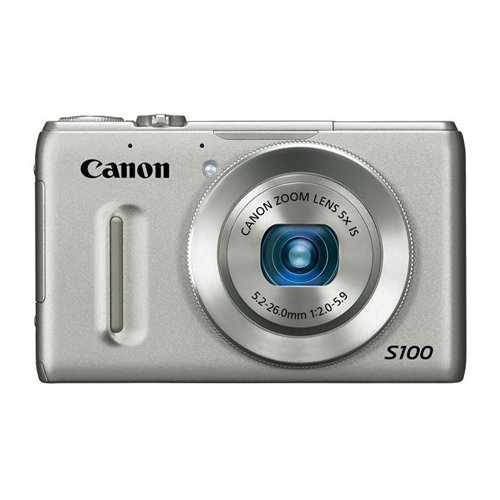 Цифровые фотоаппараты Canon PowerShot S100 Silver