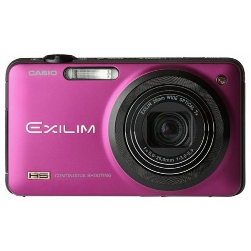 Цифровые фотоаппараты Casio Exilim EX-ZR10 Red