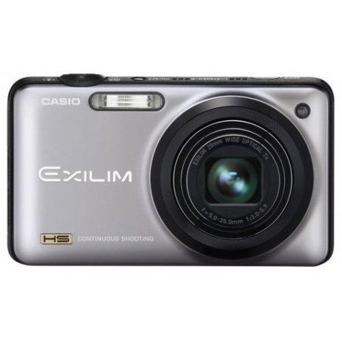 Цифровые фотоаппараты Casio Exilim EX-ZR10 Silver