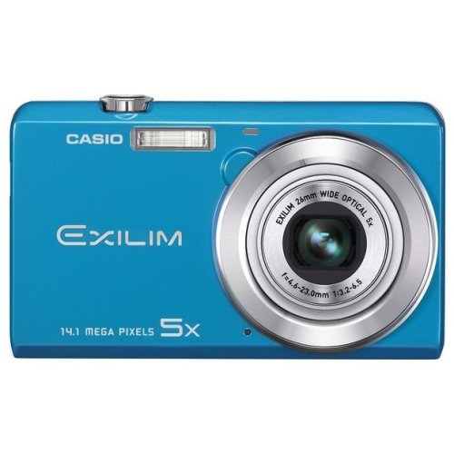 Цифровые фотоаппараты Casio Exilim EX-ZS10 Blue
