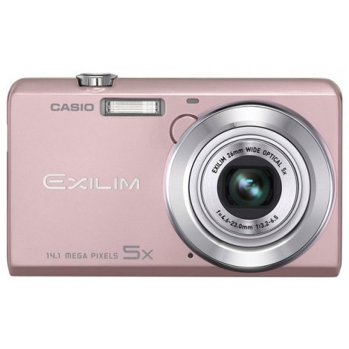 Цифровые фотоаппараты Casio Exilim EX-ZS10 Pink