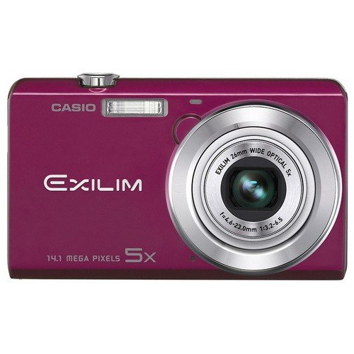 Цифровые фотоаппараты Casio Exilim EX-ZS10 Red