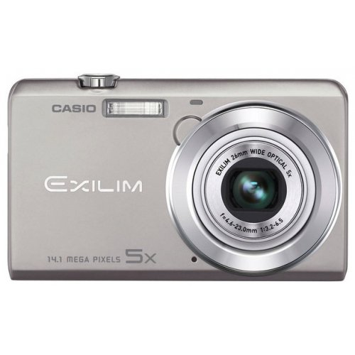 Цифровые фотоаппараты Casio Exilim EX-ZS10 Silver