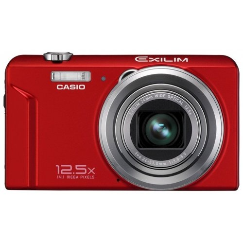 Цифровые фотоаппараты Casio Exilim EX-ZS100 Red