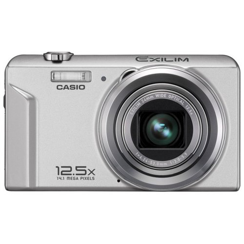Цифровые фотоаппараты Casio Exilim EX-ZS100 Silver