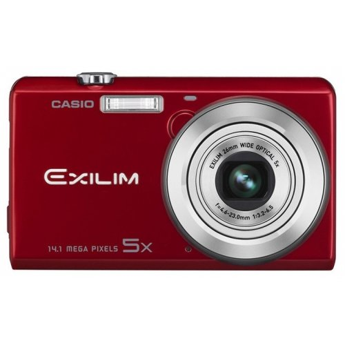 Цифровые фотоаппараты Casio Exilim EX-ZS15 Red