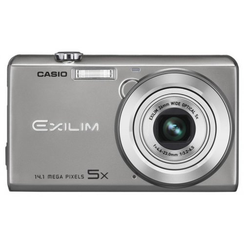 Цифровые фотоаппараты Casio Exilim EX-ZS15 Silver