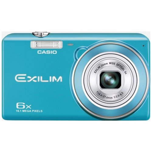 Цифровые фотоаппараты Casio Exilim EX-ZS20 Blue
