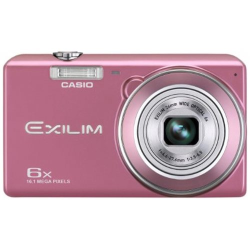 Цифровые фотоаппараты Casio Exilim EX-ZS20 Pink