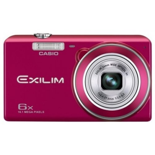 Цифровые фотоаппараты Casio Exilim EX-ZS20 Red