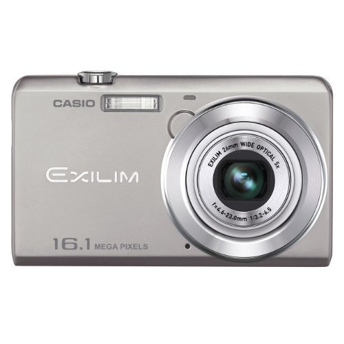 Цифровые фотоаппараты Casio Exilim EX-ZS20 Silver