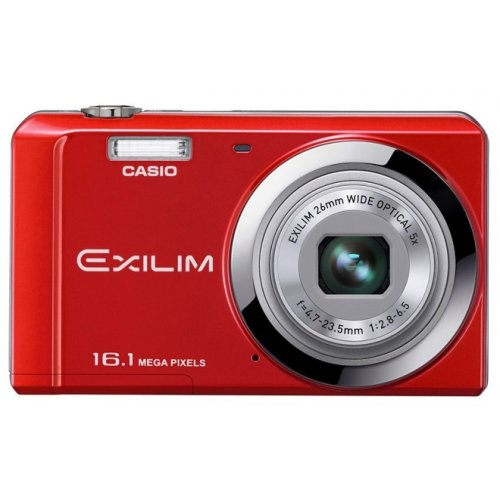 Цифровые фотоаппараты Casio Exilim EX-ZS6 Red