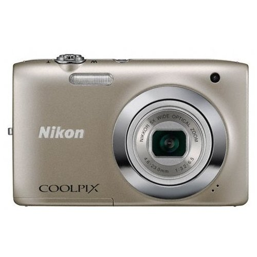 Цифровые фотоаппараты Nikon Coolpix S2600 Silver