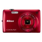 Nikon Coolpix S3300 Red