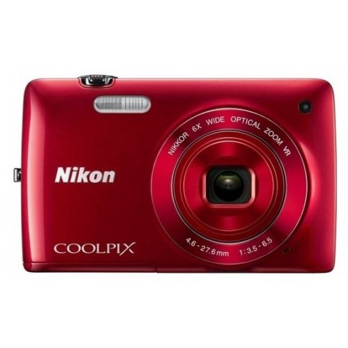 Цифровые фотоаппараты Nikon Coolpix S3300 Red