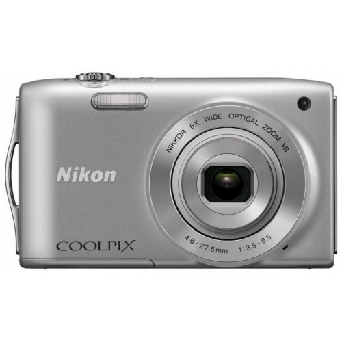 Цифровые фотоаппараты Nikon Coolpix S3300 Silver