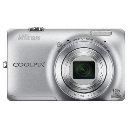 Цифровые фотоаппараты Nikon Coolpix S6300 Silver