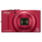Nikon Coolpix S8200 Red