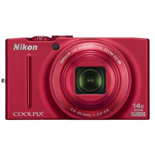 Цифровые фотоаппараты Nikon Coolpix S8200 Red