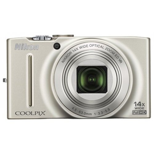 Цифровые фотоаппараты Nikon Coolpix S8200 Silver