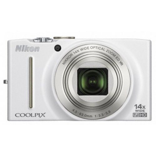 Цифровые фотоаппараты Nikon Coolpix S8200 White