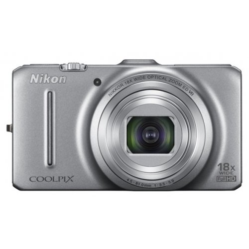 Цифровые фотоаппараты Nikon Coolpix S9300 Silver