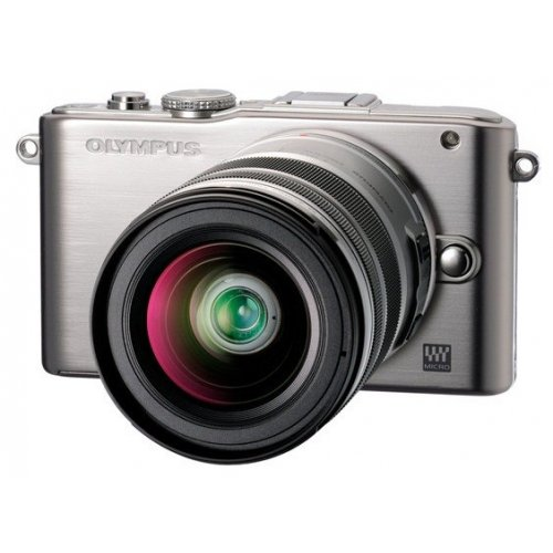Цифровые фотоаппараты Olympus Pen E-PL3 12-50 Kit Silver/Silver