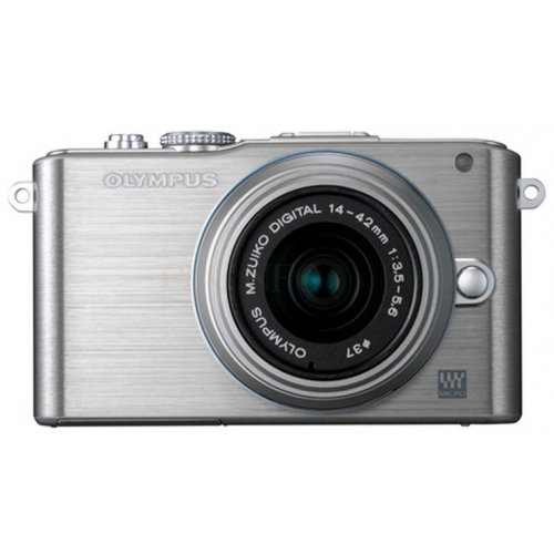 Цифровые фотоаппараты Olympus Pen E-PL3 14-42 Kit Silver/Silver